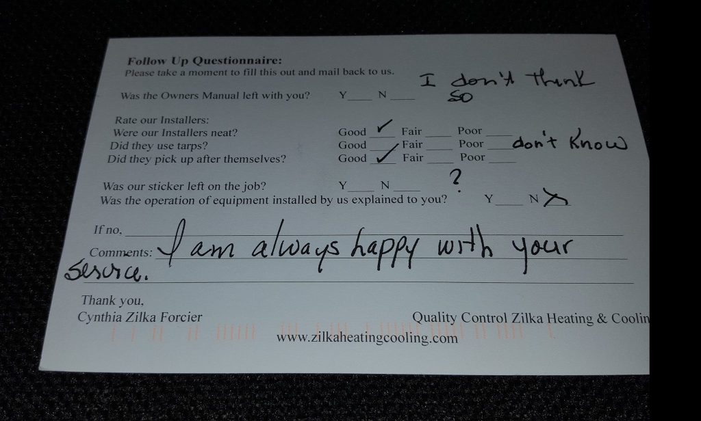 Reviews Zilka Heating And Cooling